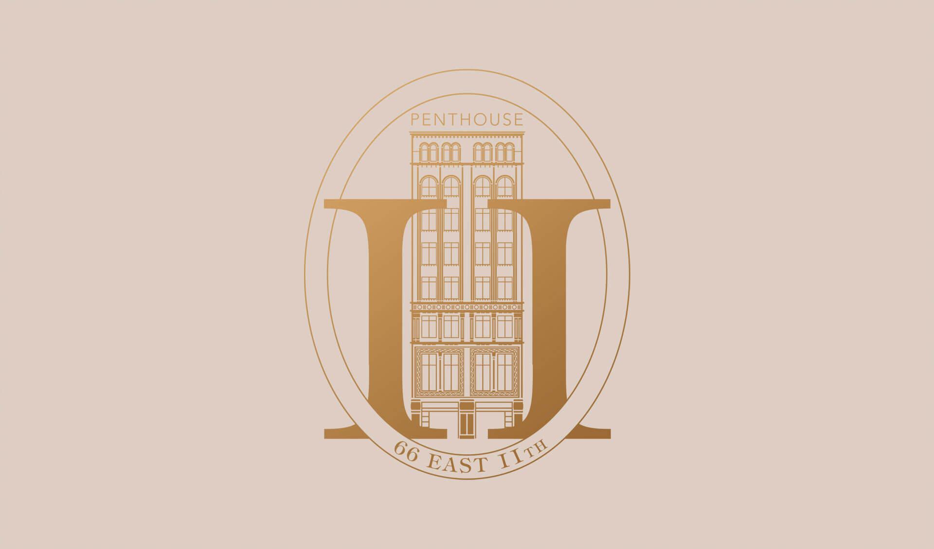 66 East 11th Logo Crest