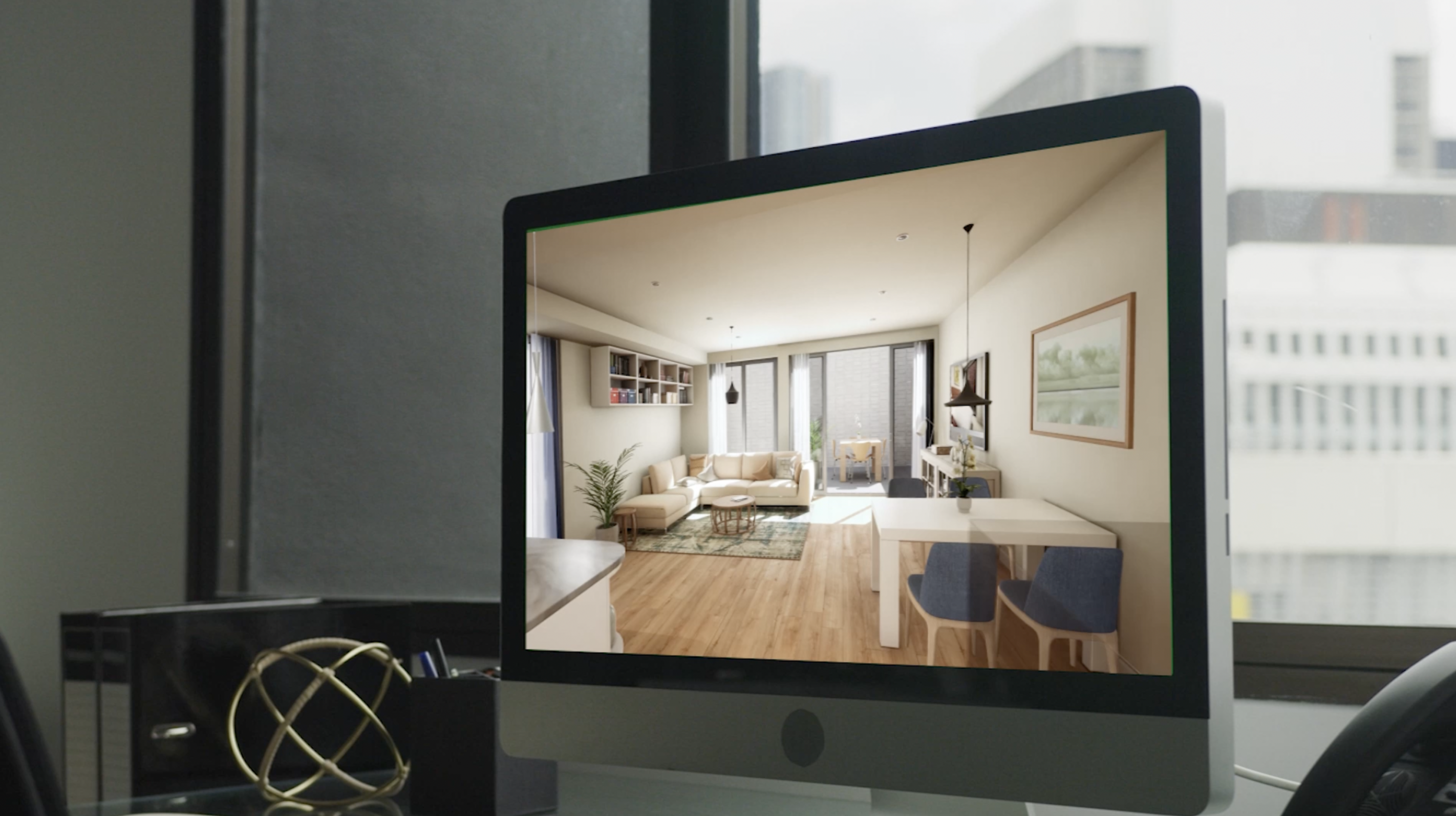 Architectural visualisation in Real Time
